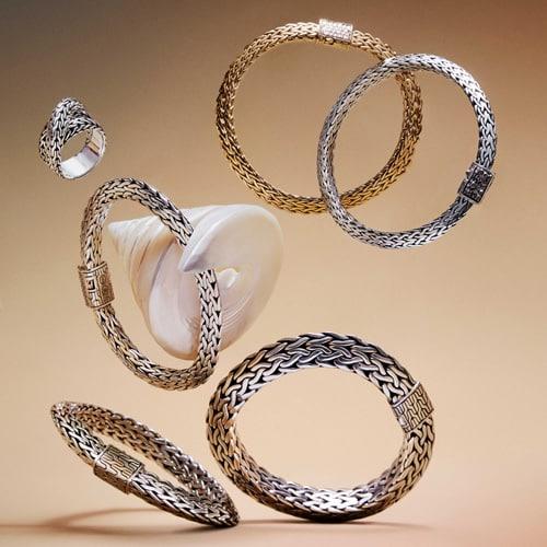 John Hardy Tiga Classic Chain Bracelets