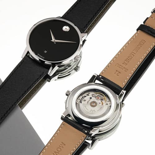 Movado Museum Classic with Leather Band